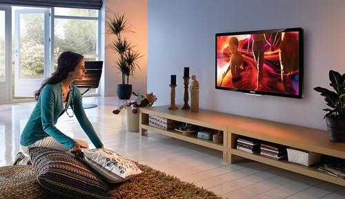 Телевізор затишок інтер'єр