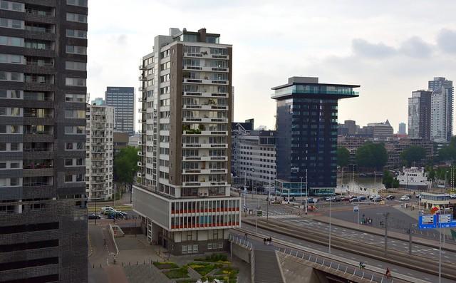 Maastorenflat 1956 H.D. Bakker Rotterdam