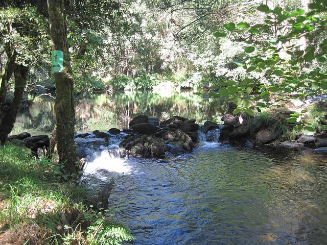 Río Mandeo de la ruta Val de Cambás
