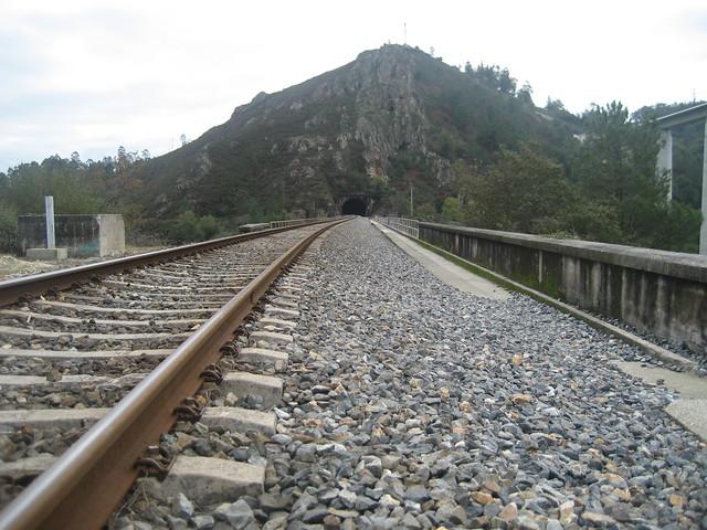 Antigua Vía en Ponte Ulla