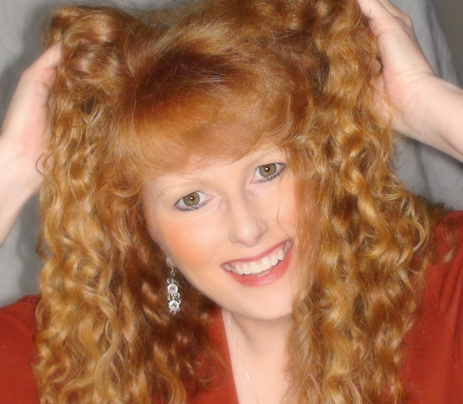Sherry Riter, The Redhead Riter, red hair woman