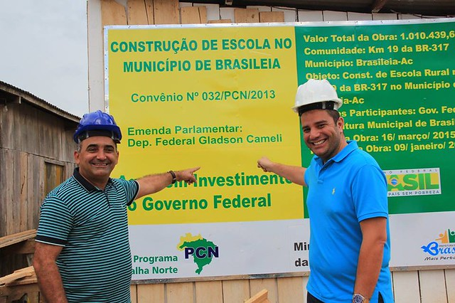 Visita a escola Valdemiro Barroso - Brasileia - 3