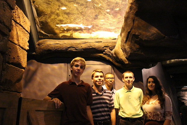 #NSLCENGN visits the Georgia Aquarium