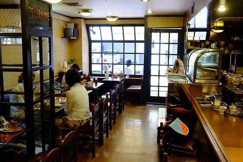 カフェ・カルディ(横浜・綱島の喫茶店):店内