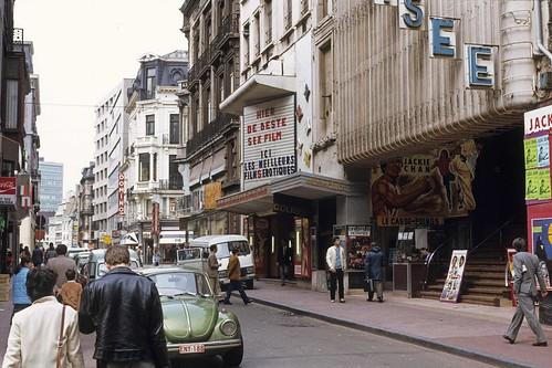 1981-01 Rue du Pont Neuf. Cinémas American ciné et Colisée
