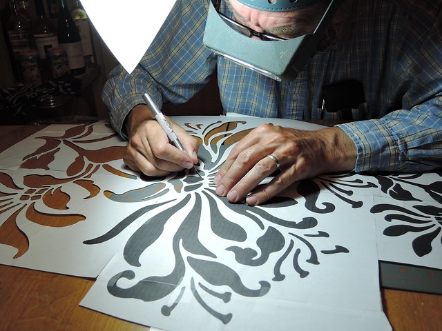 Cutting a Stencil