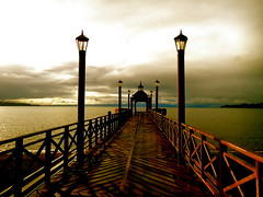 Pier in Frutillar - South of Chile by Lais P Oliveira
