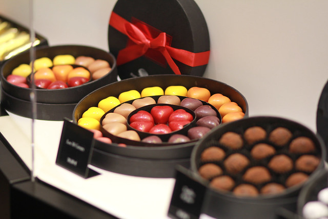 Ganache hearts by Pierre Marcolini