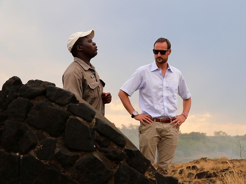 UNDP Goodwill Ambassador HRH Crown Prince Haakon of Norway visits Livingstone Island in the Zambezi | by United Nations Development Programme