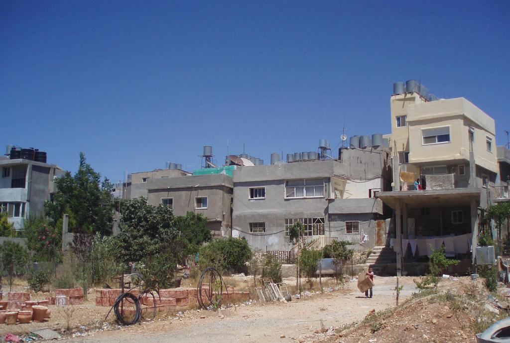 old refugee camp