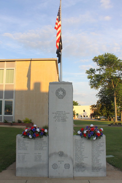 Henderson County War Memorial - Lexington, TN