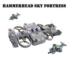 """Hammerhead Sky Fortress """"Emperor's Victory"""" by Lego Admiral"""