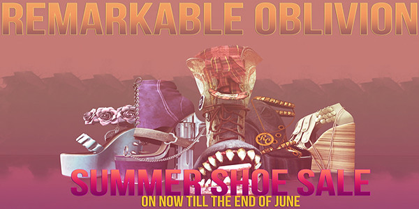 Remarkable Oblivion Sale