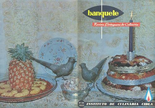 Banquete, Nº 119, Janeiro 1970 - capa, contra-capa
