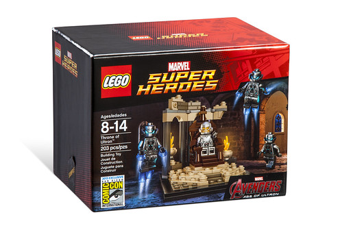 LEGO Marvel Throne of Ultron