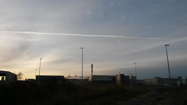 Aviation sky