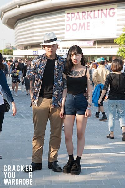六月韓國街拍 1