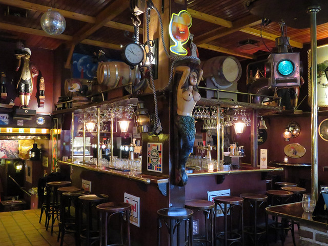 The Dutch Maritiem Pub in Rotterdam, Holland