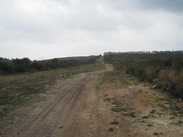 Alto de Anxelio en el PR-G 130 Meirama - Xalo - Meirama