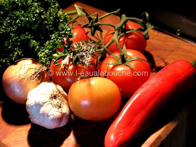 Piccata de Porc & Tombée de Tomates © Ana Luthi Tous droits réservés 002