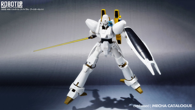 ROBOT Damashii <Side HM> L-Gaim [Spiral Booster Set]