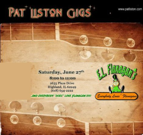 Pat Liston 6-27-15
