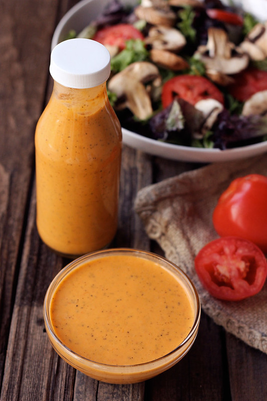 Smokey Tomato Vinaigrette - Gluten-free, Vegan