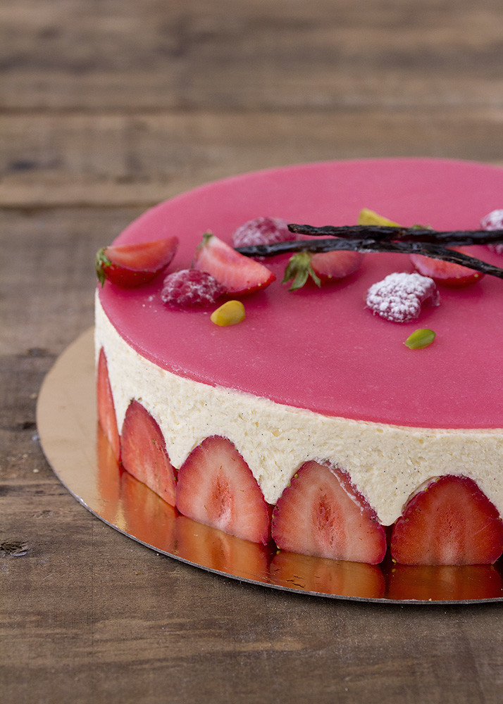 receta fraisier
