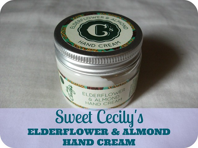 Sweet Cecily's Elderflower & Almond Hand Cream