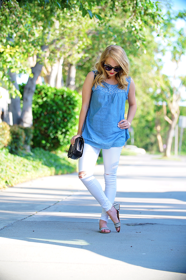 topshop white moto jeans