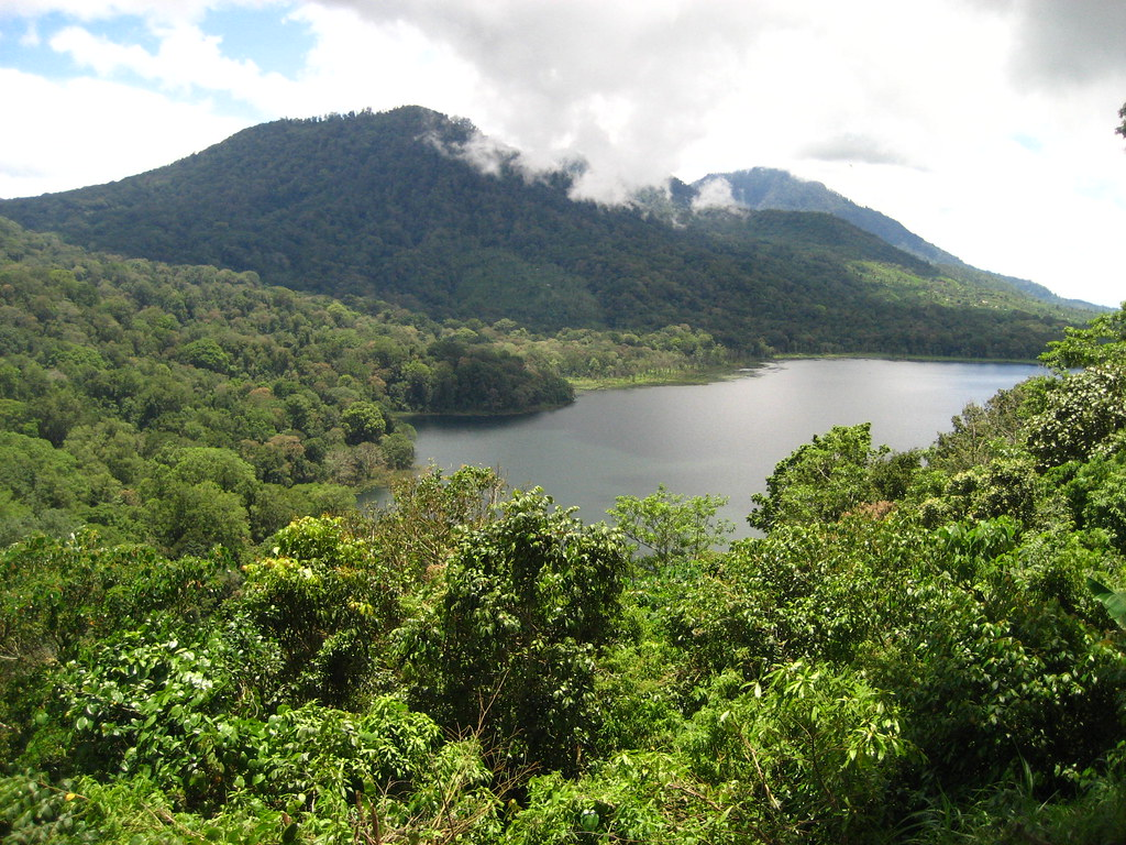 View of Danau Buyan