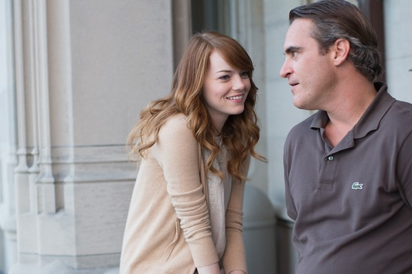 Emma Stone and Joaquin Phoenix play with genre convention in IRRATIONAL MAN.