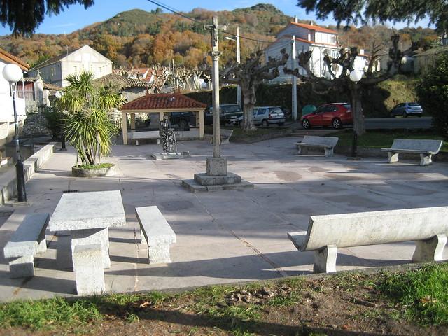 Plaza en Esgos