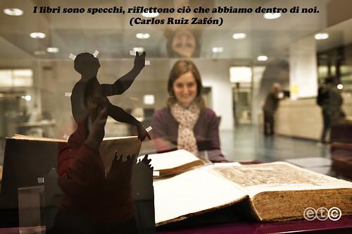 I libri sono specchi riflettono ci che abbiamo dentro di - I libri sono specchi riflettono cio che abbiamo dentro ...