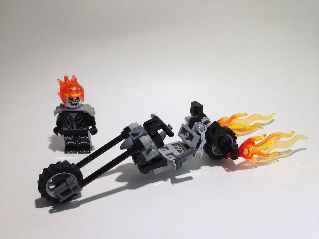 Alfa Img Showing gt The Real LEGO Ghost Rider