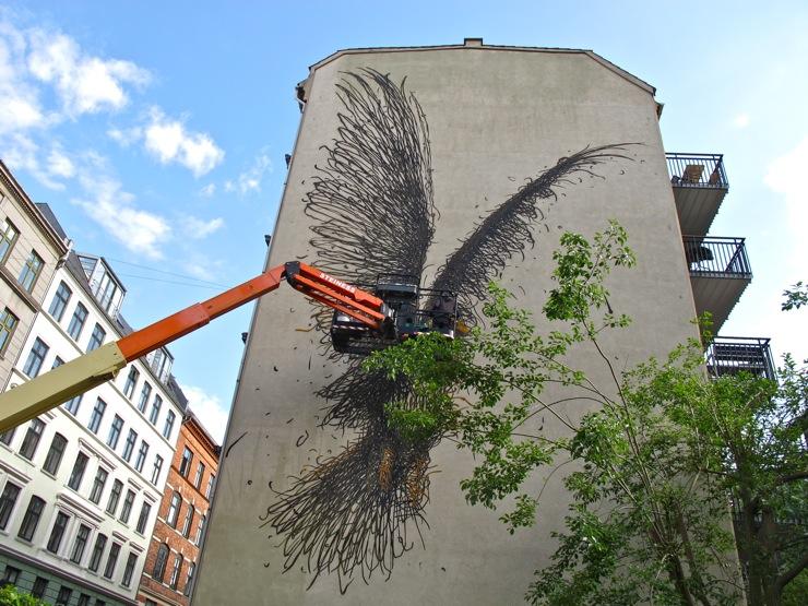 Dal East mural, Copenhagen