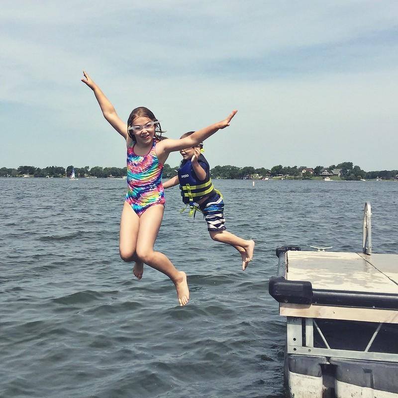 Kids at the Lake | Kansas Photographer