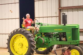 John Deere tractor or North Dakota State tractor? :)