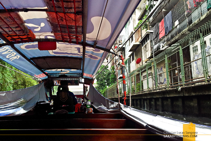 Bangkok Water Taxi at Khlong Saen Saep Canal