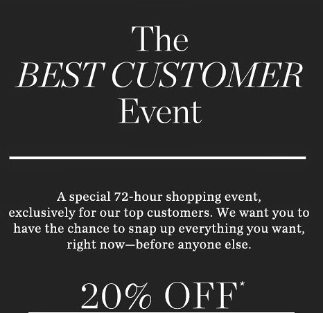 BestCustomerEvent