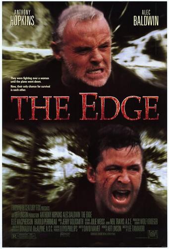 势不两立 The Edge (1997)海报