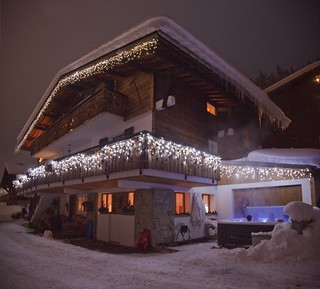 Chalet Morzine in winter