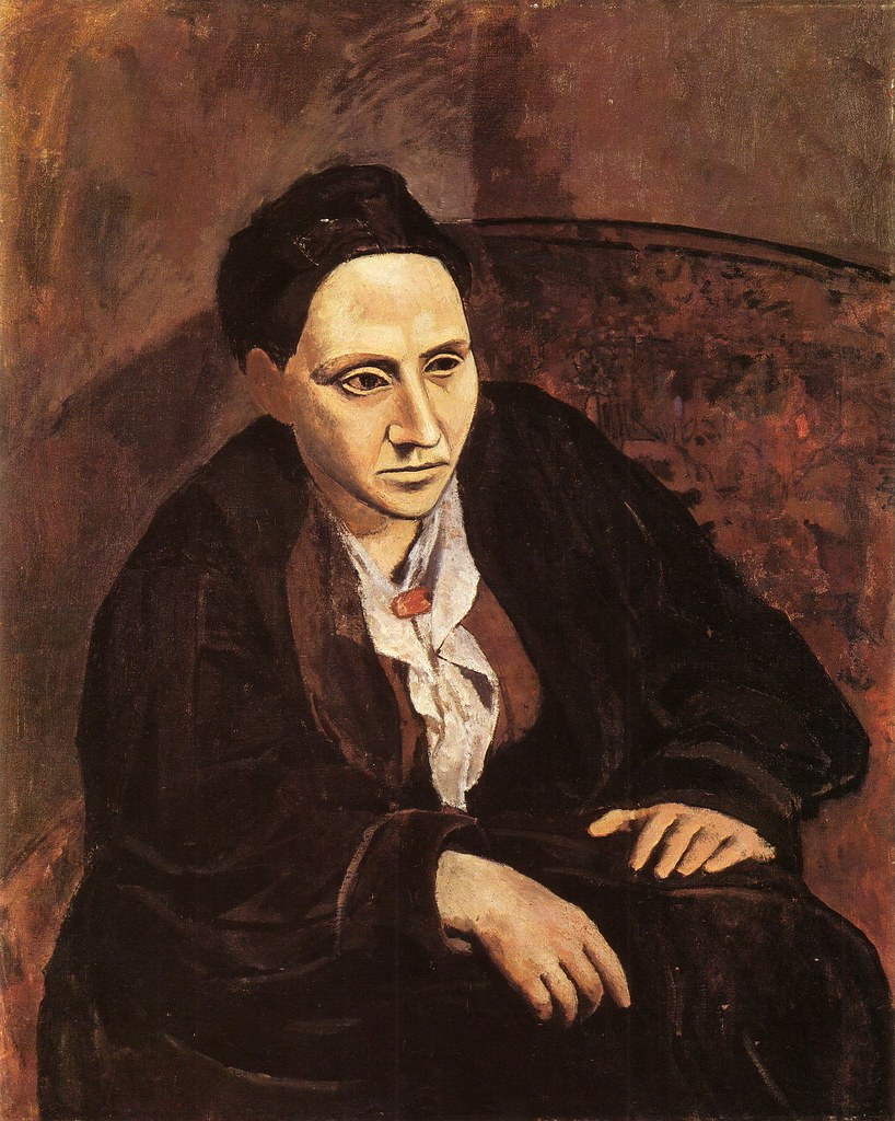 Portrait of Gertrude Stein [1905-6]