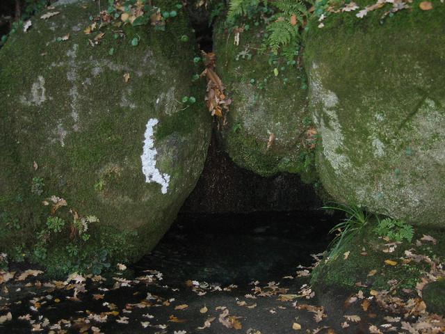 Fonte de San Bieito en Esgos