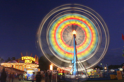 2013 Coffee County Fair: Ferris Wheel