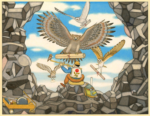 David Jien, The Kite Owls, 2015