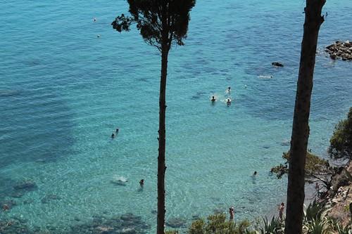 Bagni di Afrodite: la spiaggia e l'acqua cristallina