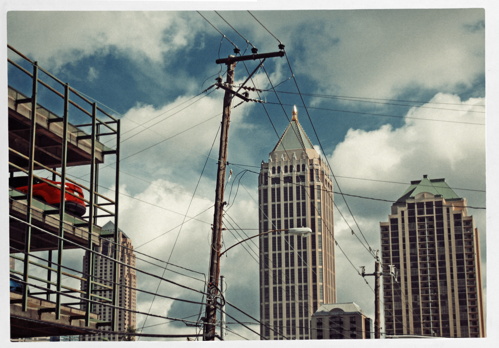 Red Car, Midtown Atlanta, 2013