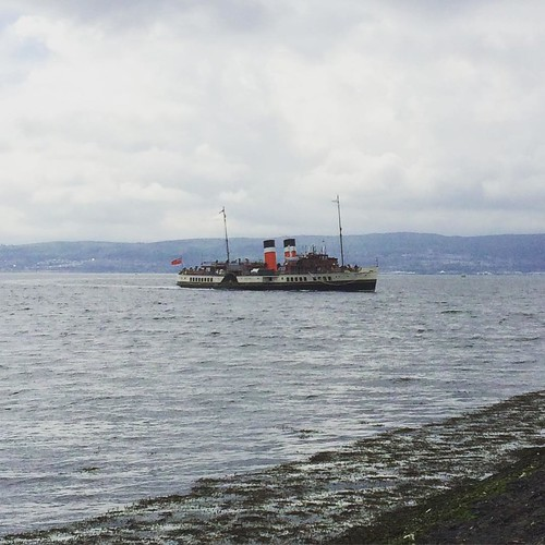 Today's view: the Waverley is back.