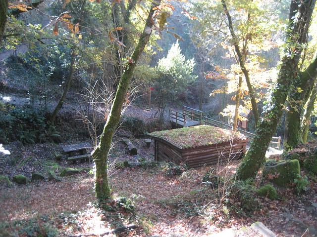 Área recreativa en el Camiño Natural do Río Barbantiño